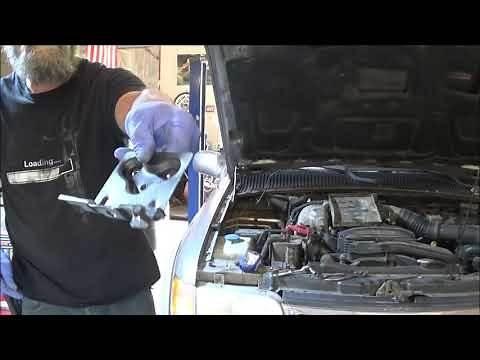 2000 Kia Sportage Fuel Filter Replace