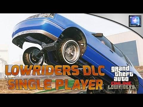 GTA 5 PC | Lowriders DLC cars in Single Player Spawn list