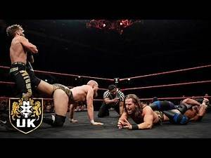 NXT UK Tag Team Title Match evolves into a submission free-for-all: NXT UK highlights, May 8, 2019