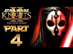 "Star Wars: KotOR 2 (Modded) - Let's Play - Part 4 - ""Fuel Depot, Asteroid Exterior"" 