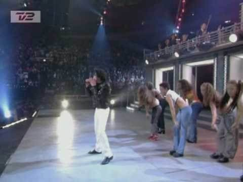 michael jackson - you rock my world live 2001 in 30 anniversary