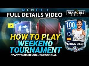 GUIDE FOR Weekend Tournament | FIFA mobile | How to Play Weekend Tournament Month 1