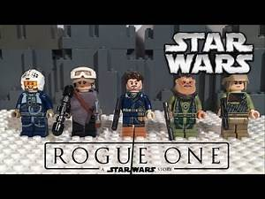 LEGO ROGUE ONE U-Wing Fighter Minifig Review!