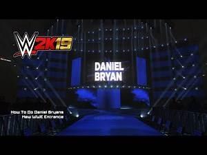 WWE 2K19 - How To Do Daniel Bryan's NEW Heel Entrance 2018 (XB1)