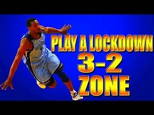 NBA 2K16 Tips - How To Play a LOCKDOWN 3-2 Zone Trap