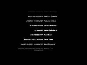 """Batman Arkham City"", game Credits"