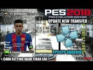 Cara Download Game PES JOGRESS 2018 V2 Update New Transfer PPSSPP Android