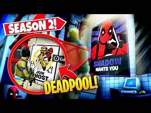 *NEW* DISCOVERING ALL DEADPOOL *POSTERS* HIDDEN IN SEASON 2! (EASTER EGGS)