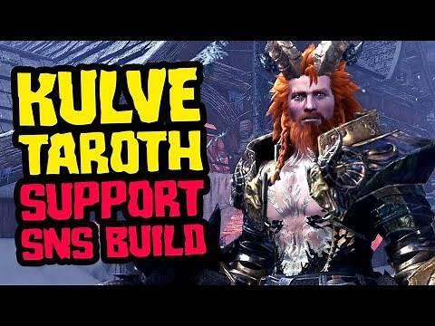 Support SnS Build , Kulve Taroth MR Armor - Monster Hunter World