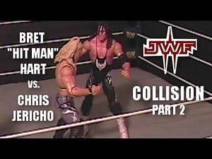 """Chris Jericho vs Bret Hart (Stop-Motion) - JWF """"Collision"""" Part 2"""