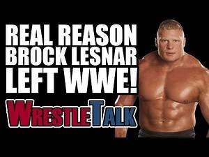 Real Reason Why Brock Lesnar LEFT WWE In 2004...