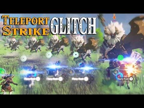 Teleport Strike GLITCH! New Combat Ability for Link in Zelda Breath of the Wild