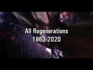 Doctor Who- All Regenerations 2020