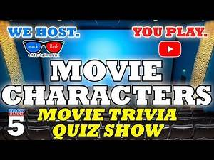 """Play a """"Movie Characters"""" Quiz Show! - Mack Flash Trivia Quickies"""