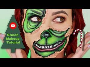 The Grinch Inspired Makeup Tutorial