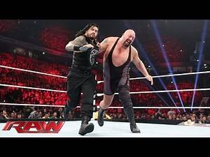 Roman Reigns vs. Big Show - WWE World Heavyweight Championship Tournament: Raw, November 9, 2015