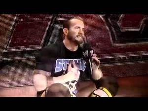 Money In The Bank 2011 - CM Punk vs. John Cena Promo (Cena Fired)