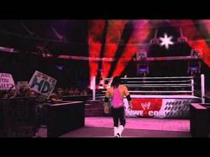 Bret Hart Entrance SmackDown vs. RAW 2011