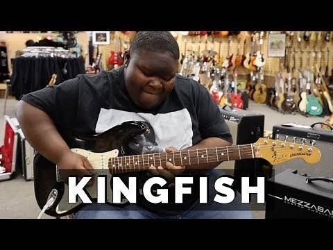 "Christone ""KINGFISH"" Ingram playing a 1989 Fender Stratocaster 