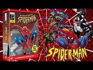 1994 Spider-Man The Animated Series Complete Series DVD Unboxing