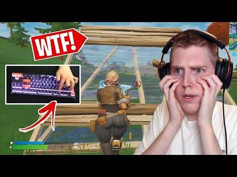 Reacting To The WEIRDEST Keybinds In Fortnite! (INSANE)