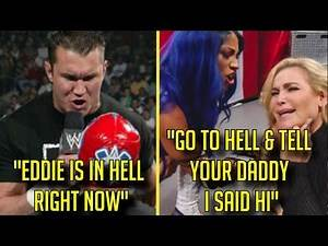 10 Times WWE DISRESPECTED DECEASED Wrestlers! - Sasha Banks DISSED Natalya's Dad & More!