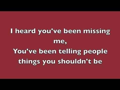 Rumor Has It - Adele (Lyrics)