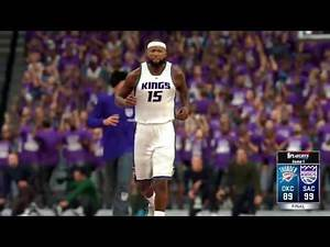 NBA 2K17 Kings MyGM | The Playoffs Are Here & Russell Westbrook is Really Mean