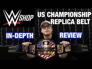 WWE Replica Belt In depth Review - United States Championship by WWE Shop