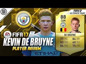 FIFA 17 KEVIN DE BRUYNE PLAYER REVIEW! (88) - FIFA 17 Ultimate Team Review