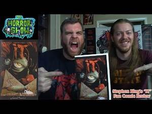 """Stephen King's """"IT"""" 2017 Fan Comic Book Review - The Horror Show"""