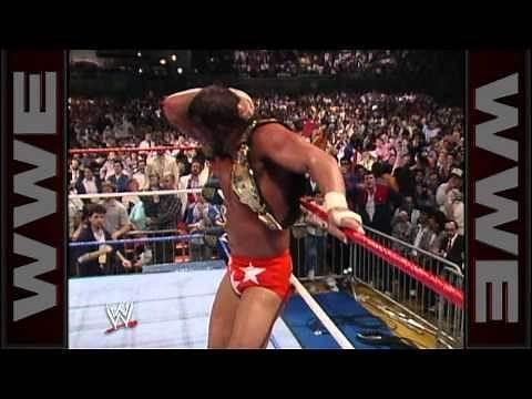 """Macho Man"" Randy Savage wins his first WWE Championship"