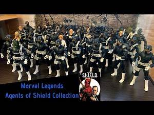 Marvel Legends Agents of Shield Collection!!!