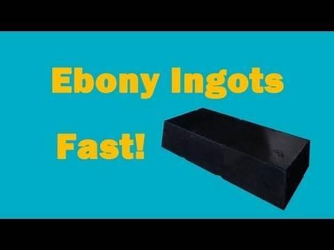 ★ Guide ★ Ebony Ingots FAST Best Mine - Daedric Armor and Weapons! Skyrim