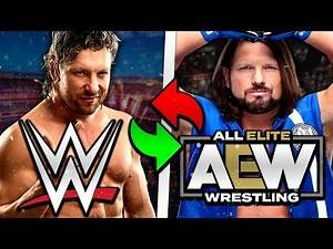 I moved Kenny Omega to WWE and AJ Styles to AEW, here's what happened... | TEW 2016 Road to TEW 2020