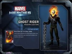 Marvel Heroes Ghost Rider Gameplay Highlight and Skills Preview