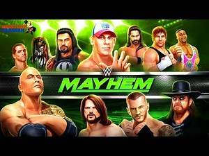 WWE Mayhem Gameplay [Android / iOS] ||New WWE Game with 3D Graphics