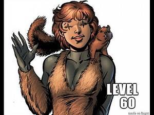 Marvel Heroes: Level 60 Squirrel Girl Gameplay