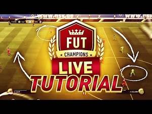 FIFA 17 l FUT CHAMPIONS LIVE TUTORIAL COVERING DEFENDING, POSSESSION, & BUILD UP PLAY!