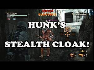Resident Evil Revelations 2 Raid Mode - HUNK's STEALTH CLOAK!