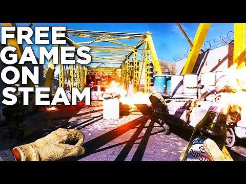 Top Best 10 Free Multiplayer Games On Steam 2021