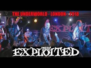 THE EXPLOITED at THE UNDERWORLD. ALL THE HITS, and a few more.