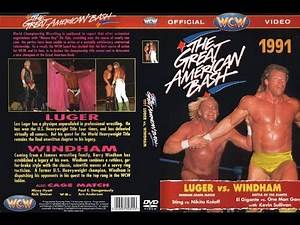 WCW The Great American Bash 91' - WWE 2K Full Card Playthrough