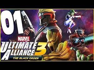 MARVEL ULTIMATE ALLIANCE 3: The Black Order Chapter 1 Infinty Stones STOLEN (Nintendo Switch)