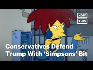 Republicans' Latest Trump Defense Is an Old 'Simpsons' Joke | NowThis
