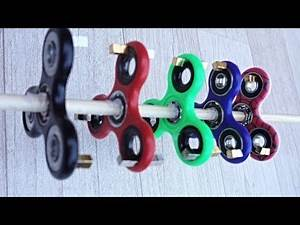 Fun with fidget spinners and strong magnets!