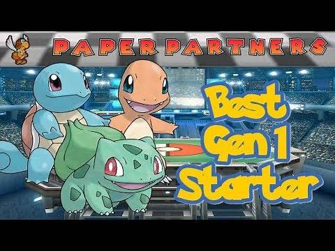 What is the best starter in Pokémon Red/Blue?