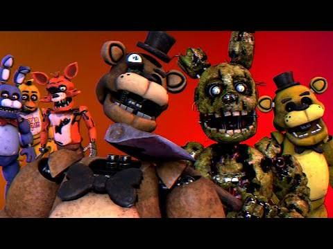 Afton's Revenge | Springtrap Destroys The Animatronics Once And For All! [Part 1]