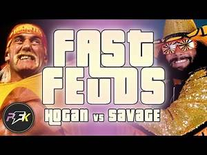 The History of Hulk Hogan vs Randy Savage... In About 3 Minutes | Fast Feuds | partsFUNknown