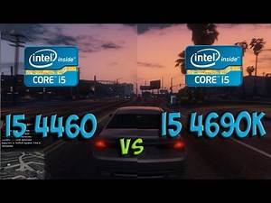 i5 4460 vs i5 4690k Test in 5 Games (R9 380)